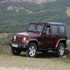 Puzzles Red Jeep