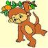 Słodka małpka – cute monkey coloring