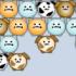 Bąbelkowe psy i koty